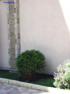 отмостка дома из бутового бетона