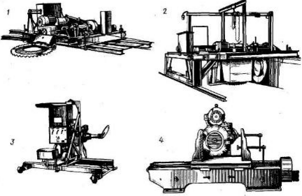 Машины для разработки и обработки горных пород, камнерезные машины