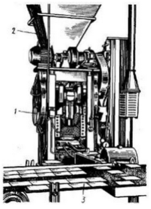 Пресс- автомат полусухого прессования