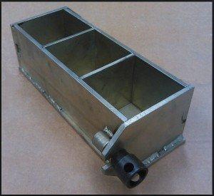 Опалубка для отливки контрольных кубиков