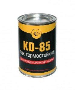 Кремнийорганический лак термостойкий КО-85