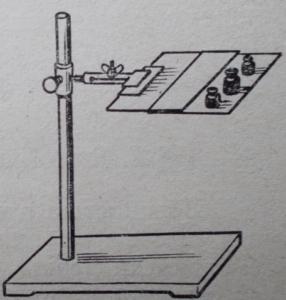 Схема опыта, показывающего особые свойства тонких слоев воды