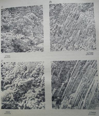 Основные структурообразующие фазы цементного камня
