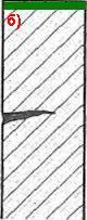 Влияние внутренних поверхностей на торможение развития трещин: