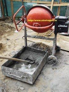 приготовление бетонов