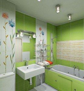 цветовое оформление ванной комнаты