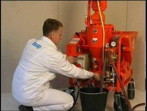 Машинный агрегат для производства полимерного раствора