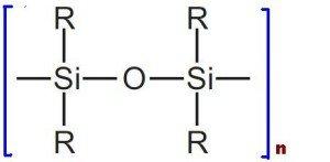 Строение макромолекулы кремнийорганического полимера