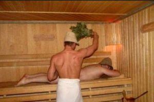 Как правильно парится в русской бане