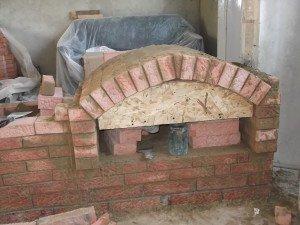 как построить печь в доме