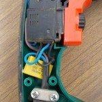 Кнопка включения электродвигателя.