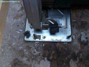 Стол для ручной дисковой пилы