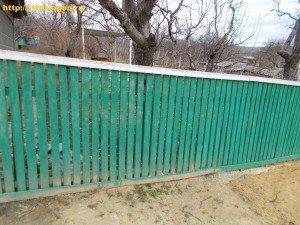 Забор своими руками на даче