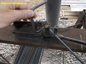 Пример обработки арматуры на станке