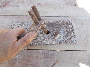 Сборка станка для гибки арматуры