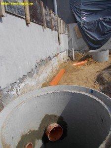 Устройство дождевой канализации