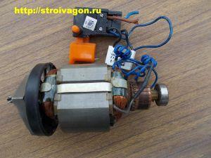 Электродвигатель ударной дрели