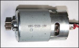 Электрический двигатель аккумуляторного шуруповерта