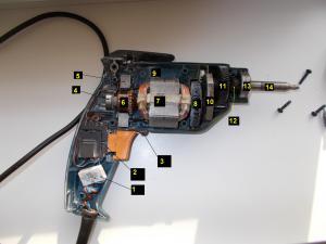 Основные модули шуруповерта