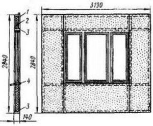 Асбестоцементная стеновая панель
