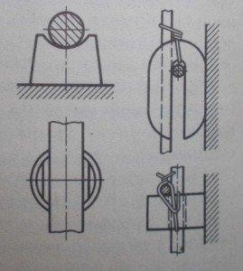 Фиксатор арматуры из цементно-песчаного раствора