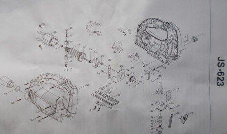 Схема сборки электролобзика