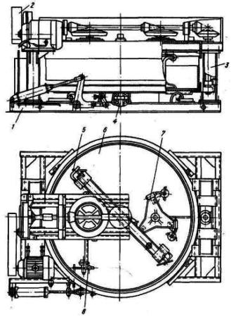 Бетоносмеситель принудительного перемешивания С-357 емкостью 1000 л