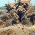 Разработка грунта взрывом
