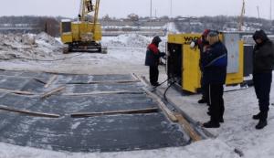 Оттаивание грунта электропрогревом