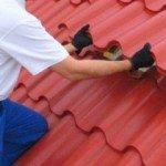 Покрытие бесчердачных крыш промышленных зданий листами УВ и ВУ