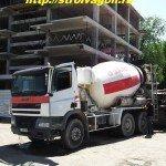 Транспортирование бетонной смеси