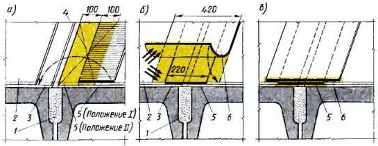 Гидроизоляция стыков смежных панелей