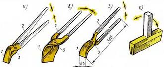 Инструменты для гибки краев кровельных листов