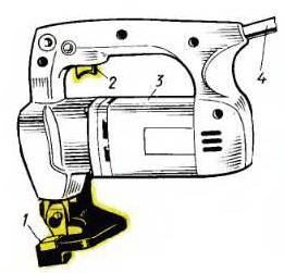 Электрические ножевые ножницы ИЭ-5405