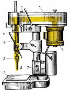 Настольный вертикально-сверлильный станок 2М 112