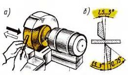 Заточка режущих инструментов на станке ИЭ-9703 В