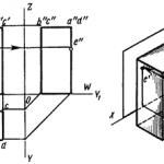 Проекции многогранников и точек на их поверхностях