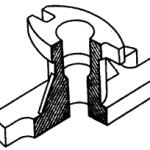 Наглядное изображение крышки вентиля