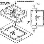 Условные графические изображения элементов зданий
