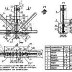 Виды чертежей и условные изображения деревянных конструкций