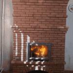 Футеровка топливника печи