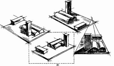 Рисование группы геометрических форм